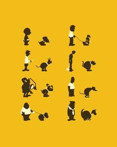 Si caminas con tus mascotas recuerda aplicar protector solar. ¿Puedes mencionar estas mascotas famosas?