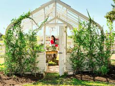 During Fixer Upper Season Joanna and Chip Gaines gave their farmhouse garden a makeover with their kids on hand to help—and the transformation is amazing. Take a tour of Joanna Gaines's new garden and shed.