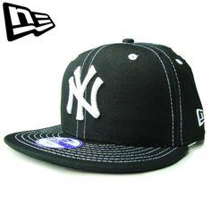 """【ニューエラ】【NEW ERA】9FIFTY KIDS NEW YORK YANKEES """"NY"""" ホワイトステッチ ブラック キッズサイズ スナップバック【CAP】【newera】【snap back】【帽子】【黒】【白】【子ども】【BLACK】【キャップ】【ダンス】【楽天市場】"""