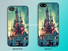 Disney castle --iphone case