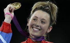 Jade Jones winning GB's first Olympic taekwondo gold in London