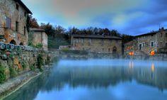 Tuscany: Bagno Vignoni
