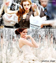 I think Holland Roden would be a great America