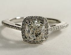 antique cartier engagement ring | View this one-of-a-kind engagement ring and thousands more at Blue ...