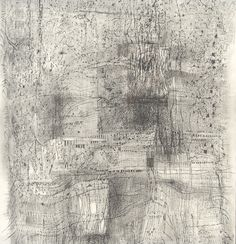 Ann Symes Fabric of existence 1 Graphite