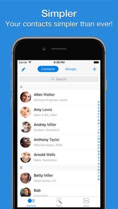 Simpler Pro - Smart contacts manager on App Store:    Over 3000000 people love Simpler Pro :) Your address book is a mess? Simpler Pro will fix it in few seconds! MAIN FEATURES  M...  Developer: YT Development Ltd  Download at http://ift.tt/1mReGKK