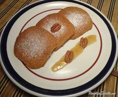 Receta de Galletas de nueces y miel - Paso 10 Milk Shakes, Bon Appetit, Pancakes, Bread, Breakfast, Aurora, Food, Cookie Dough, Drop Cookie Recipes