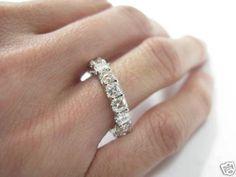 Eternity ring ebay