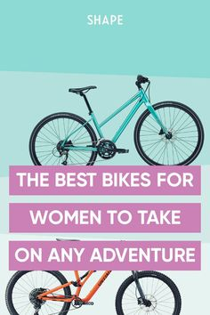 Ditch that too-small bicycle from your teen years and invest in one of these best bikes for women. #biking #fitness Intense Cardio Workout, Cardio Workouts, Specialized Stumpjumper, Trek Bikes, Rough Riders, Sweat It Out, Cycling Workout, Cool Bikes, Burn Calories