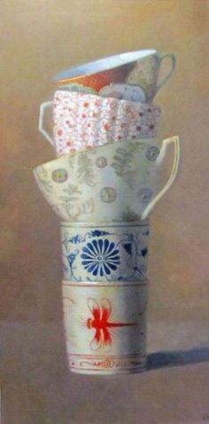 Cup Tier on Brown, Olga Antonova