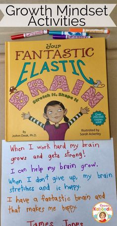 Are you teaching your students about growth mindset? Do they understand how the brain works? Use Your Fantastic Elastic Brain to deepen your students' understanding of growth mindset. This blog post will help you understand the what the book contains as well as a few tips and ideas for discussions and activities.