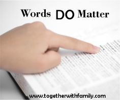 The fastest way to lose your child's heart can be your words! If you are an angry, criticizing, and condescending parent you can change!!