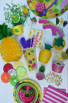 Tutti Frutti Party Package Complete Party Kit Twotti