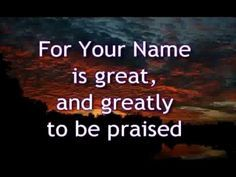 All praise and glory to God Yahweh. Praise His Holy name. His mercy endures forever. Christian Music Lyrics, Christian Songs, Church Songs, Church Music, Worship The Lord, Praise The Lords, Great Are You Lord, Love Yourself Lyrics, Contemporary Christian Music