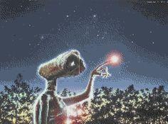 E. T. cross stitch pattern von CutHart auf Etsy
