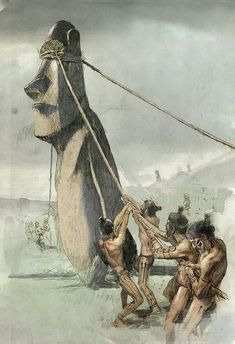 Fernando G. Baptista | Nat Geo Ancient History, Art History, Theory Of Evolution, Early Humans, Indigenous Tribes, Easter Island, Stone Age, Fantasy Rpg, Historical Pictures