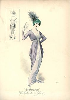 1913 Fashion plate, De Gracieuse. Love this one, classy and beautiful.