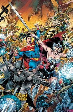 DC COMICS EARTH TWO (Variant cover by IVAN REIS and JOE PRADO). First issue of an ongoing series from writer JAMES ROBINSON and artist NICOLA SCOTT on sale May 2, 2012.