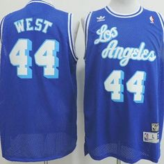 98f780032 ... Lakers Jerry West adidas Blue Hardwood Classics Soul Swingman Throwback  Jersey 6 Jerry west jersey · Los Angeles LakersSoccer .