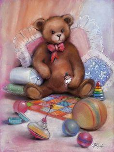 Плюшевые медведи в живописи. Подборка из 43 картин - Ярмарка Мастеров - ручная работа, handmade