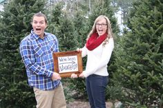 Christmas pregnancy announcement, holiday pregnancy announcement, December pregnancy announcement... We've been naughty!!!