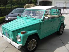 1974 VW Thing...I think we'll need one of these for when we move to the beach!