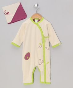 Take a look at this Tulipwood Reversible Wrap Playsuit & Hooded Blanket by pandipanda on #zulily today!