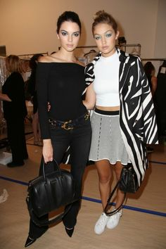 Kendall Jenner, Gigi Hadid And The Best Supermodel BFF Moments Of Fashion Week