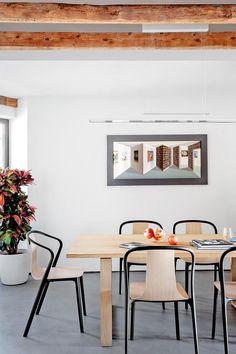 Loft eetkamer met scandinavisch interieur | CMI