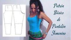 Paso a paso aprende a trazar un patrón para hacer tus propios pantalones. ¡Toma nota!