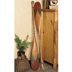 Antique Style Canoe Paddle