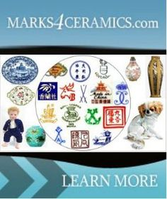 INSTANT APPRAISAL & MAKERS MARKS IDENTIFICATION FOR ANTIQUES and COLLECTIBLES Antique China, Antique Glass, Antique Appraisal, Antique Pottery, Diy Resin Crafts, Pottery Marks, Vintage Glassware, Vintage Ceramic, Makers Mark