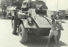 Portuguese Army GMC Fox (Canadian built Humber Mk IV) armored car in Guinea-Bissau, Armored Car, Armored Vehicles, Guinea Bissau, Car Ins, Portuguese, Monster Trucks, Army, Military, Cold War