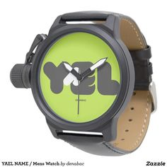 YAEL NAME / Mens Watch Relojes