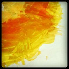 Process not Product, guest post by Lisa of Little Coffee Beans. Toddler Art Exploration Month!
