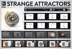 Strange Attractors Workflow by Chaotic Atmosphere (Tutorial, How to do)