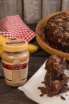 No Sugar Foods, Tahini, Brownies, Salt, Greek, Breakfast, Cake Brownies, Recipes