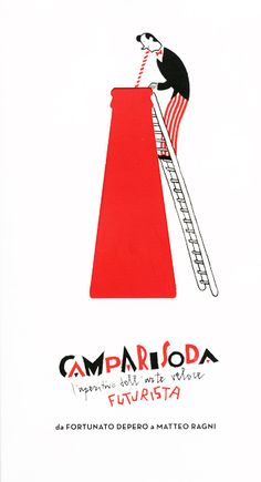 Campari Soda | Steven Guarnaccia