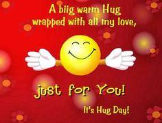 Hug day SMS