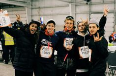 Red Bull Prairies ‏@RedBullAB 1 Std.  Talk about a dream team! @Marie-France Roy, @TravisGerrits, @Craig_McMorris, @sean Pettit & @Mark McMorris #WorldRun pic.twitter.com/xcg8rHCIsU