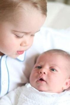 Prince George and Princess Charlotte--beautiful children