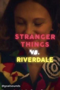 Riverdale Betty, Bughead Riverdale, Riverdale Funny, Stranger Things Actors, Stranger Things Funny, Mean Girls 2, Camila Mendes Veronica Lodge, Riverdale Netflix, Netflix Videos