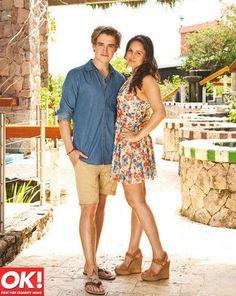 Tom Fletcher and Giovanna enjoyed a Caribbean honeymoon in St Lucia.