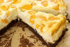Brownie-Käsekuchen mit Mandarinen | Backen mit Globus & Sallys Welt #11