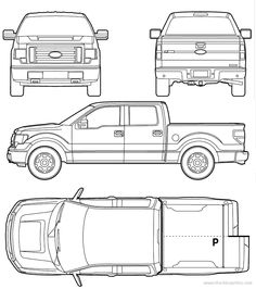 67 best car cake templates images on pinterest in 2018 cake ford f 150 2012 malvernweather Gallery