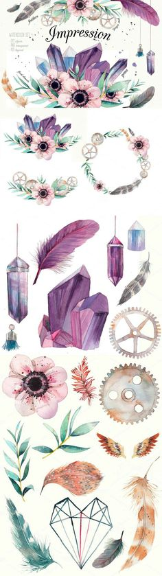 Pretty illustrations