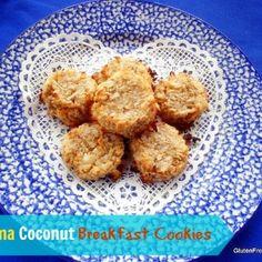 Banana Coconut Breakfast Cookies {Gluten-free}