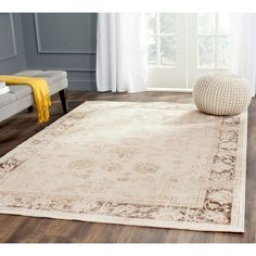 Top Product Reviews for Safavieh Antiqued Vintage Stone Viscose Rug (6'7 x 9'2) - Overstock.com - Mobile