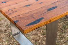 stainless steel leg dining table