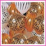 animal print balloons.. yay!